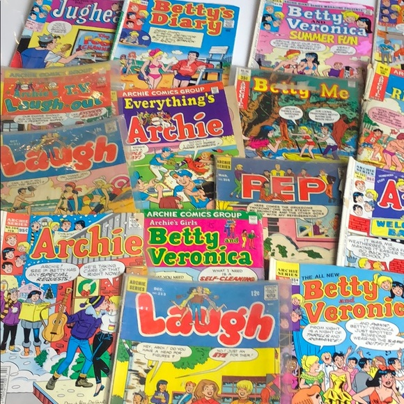 Archie Comics - Lot of 22 issues from 1960s - 90s